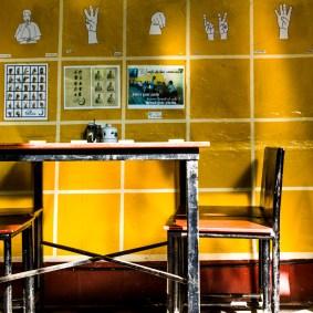 Bestellanleitung im Café de las Sonrisas