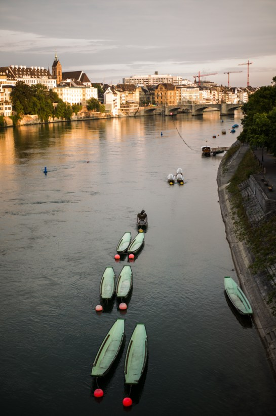 Basel, Rhine River (Switzerland)