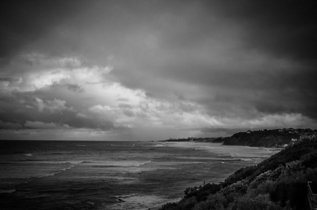 View to Biarritz