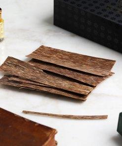 Prachin oud chips incense box
