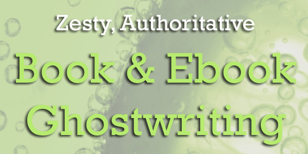 Book and Ebook Ghostwriting Services