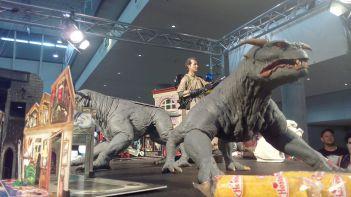 Große Gaststars wie Bill Murray schützt man am besten mit Kampfhunden