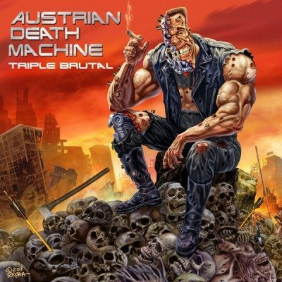 Austrian-Death-Machine-Triple-Brutal-album-cover