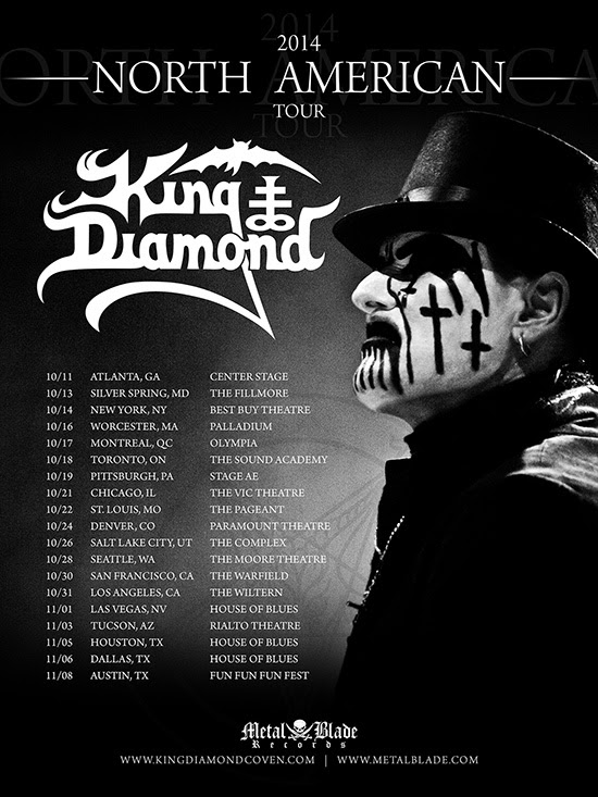 King diamond fall us tour