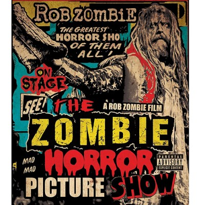 rob zombie DVD cover