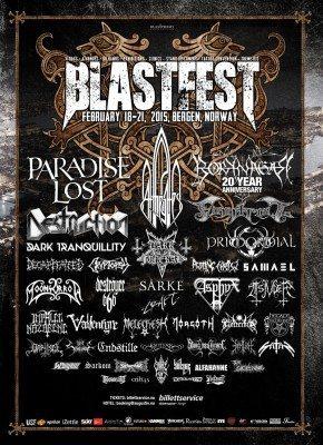 Blastfest 2014 Poster