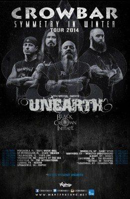 crowbar tour poster
