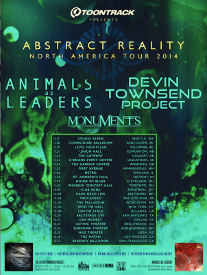Abstract-Reality-tour-poster