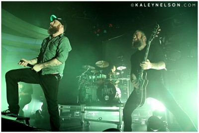 Anders Friden and Bjorn Gelotte of In Flames. Photo By Kaley Nelson