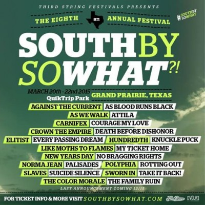 South By So What 2015 update