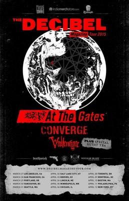 at the gates decibel tour