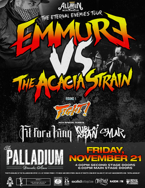eternal enemies tour poster