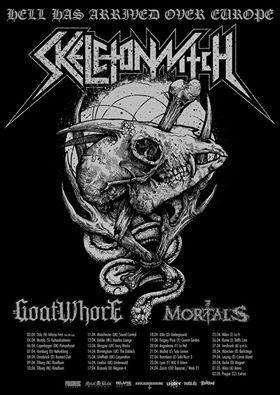 skeletonwitch goatwhore mortals uk euro tour 2015