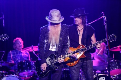 Matt Sorum, Billy Gibbons and Richie Sambora. Photo Credit: Tiffany Rose.