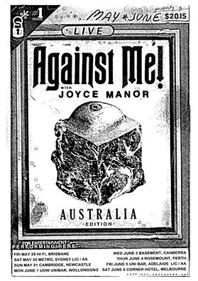 against me joyce manor australia 2015