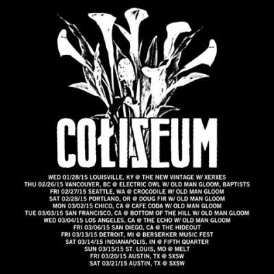 coliseum tour dates
