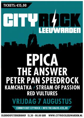 City rock Leeuwarden