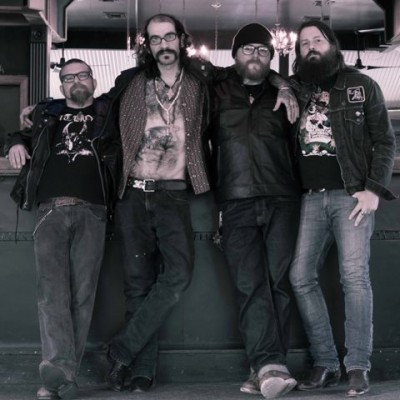 Venomous Maximus: Trevi Biles (Bass), Gregg Higgins (Vocals, Guitar), Bongo (Drums) and Christian Larson (Guitar).Photo Credit: Jessica Brungardt (@jessaberrant)