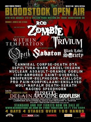 Bloodstock 2014 as of march 10