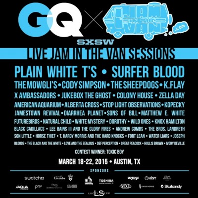 GQ X SXSW live jam in the van sessions