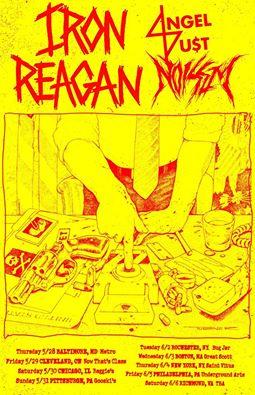 iron reagan angel du$t noisem tour 2015