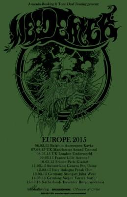 weedeater UK spring tour 2015