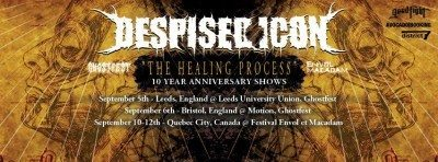 despised icon the healing process 10 year anniversary banner