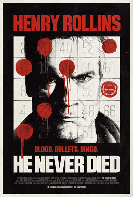 henry rollings he never died poster