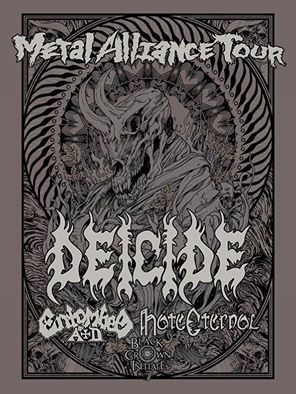 metal alliance tour deicide entombed ad hate eternal black crown initiate