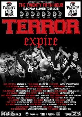 terror expire euro tour