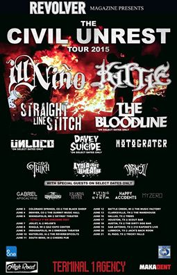 the civil unrest tour 2015