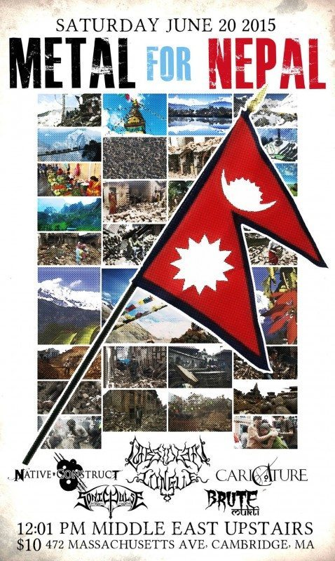 Metal For Nepal Benefit Concert