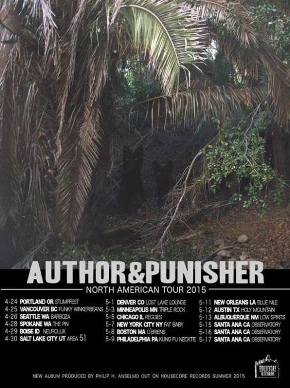 author and punisher spring us tour admat