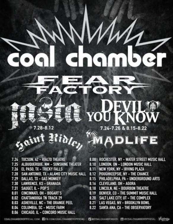 coalchamberfearfactorytour2015