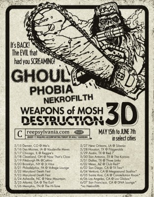 ghoul phobia nekrofilth