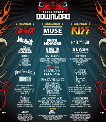 Download lineup