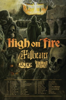 High on fire tour