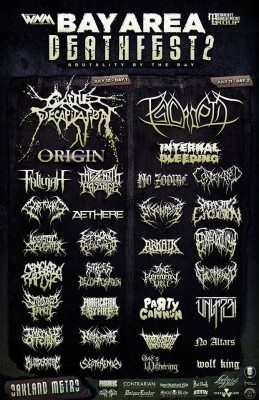 bay area death-fest 2015