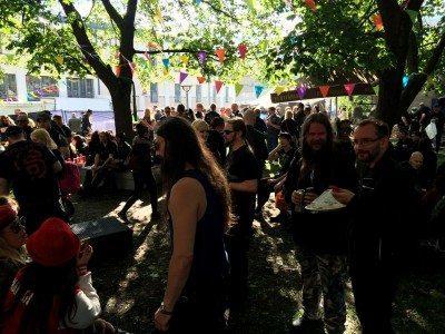 Fans at Tuska Festival,