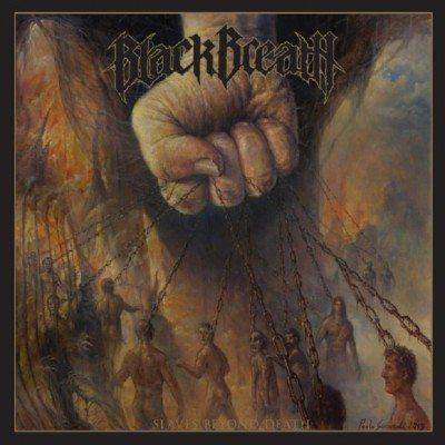 Black Breath Slaves Beyond death abum cover