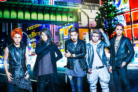 Crossfaith band 2015