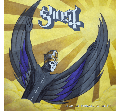 Ghost From The Pinnacle single cover