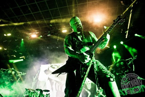 Kerry King of Slayer. Photo Credit: Kevin Estrada