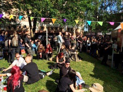 Fans a Tuska Festival, photo by Tuska Festival