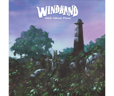 Windhand Griefs internal flower album cover 2015