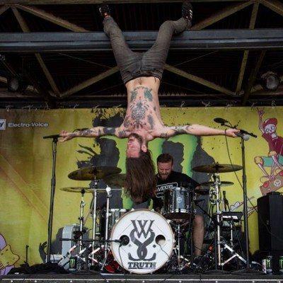 While She Sleeps on Warped Tour 2015 (via Facebook)