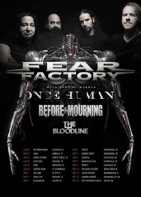 fear factory once human before the mourning the bloodline
