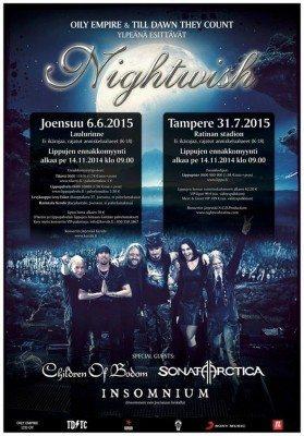 nightwish tampere