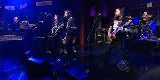Red Fang with Paul Shaffer on Late Show With David Letterman.
