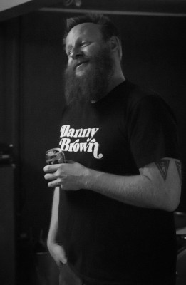 Matriarch guitarist Jake Harnett. Photo credit by Travis Heacock
